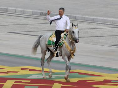 Turkmenistan's Independence Day - in pictures