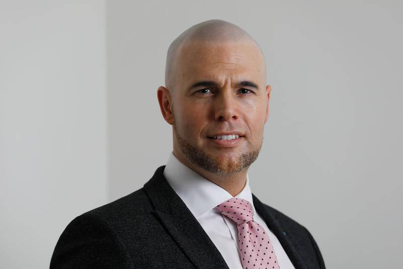 A picture taken on February 24, 2017 in Rotterdam shows PVV MP Joram van Klaveren.  For seven years Joram van Klaveren fought a relentless campaign in the Lower House against Islam in the Netherlands as a lawmaker for Freedom Party (PVV). He now has set tongues wagging in the Netherlands after revealing he has converted and become a Muslim, news reports said on February 5, 2019.    - Netherlands OUT  / AFP / ANP / Bas CZERWINSKI