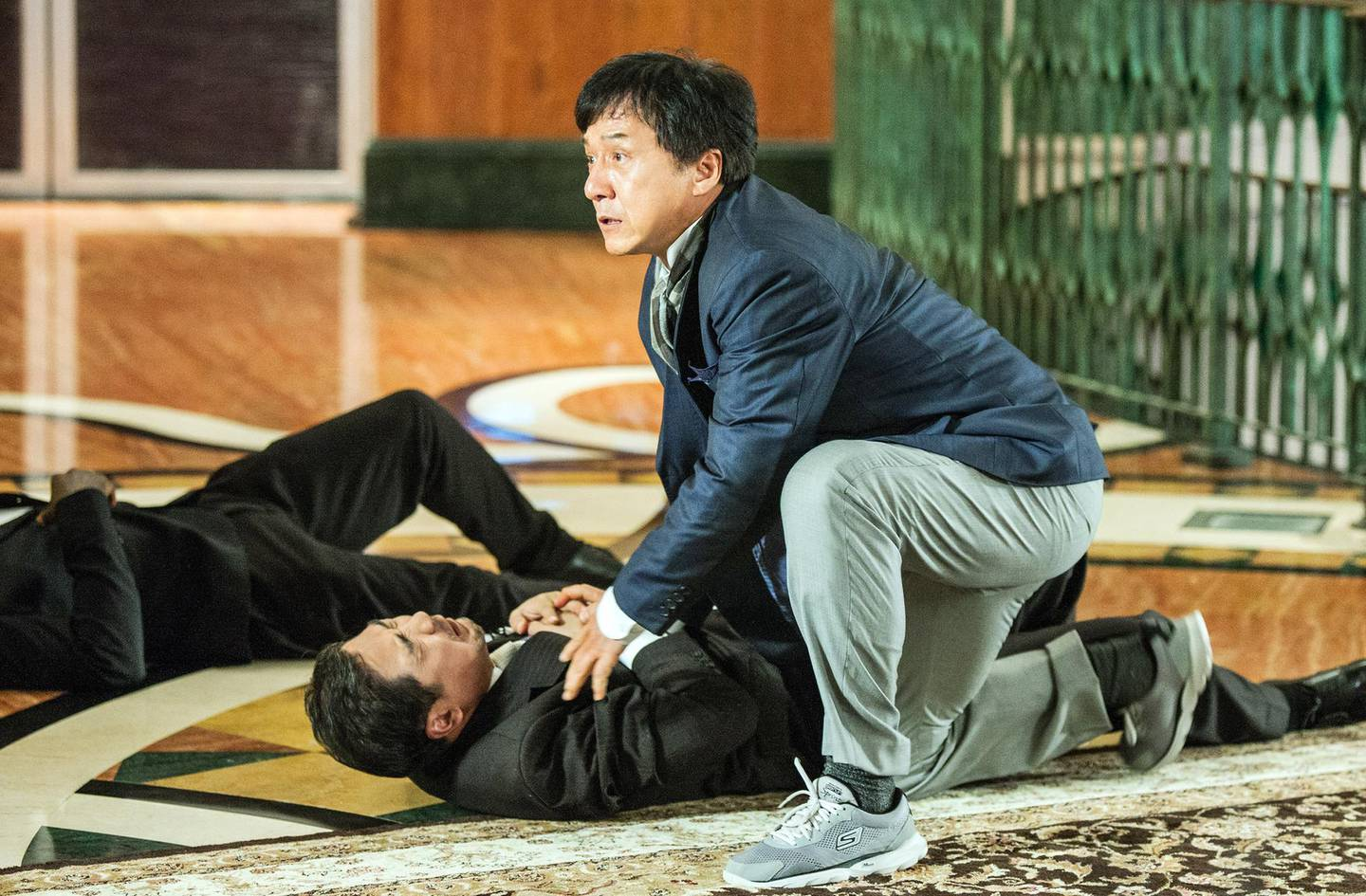 """A handout photo of Jackie Chan in """"Kung Fu Yoga"""" (Courtesy: Gulf Film) *** Local Caption ***  wk03fe-top10-kungfu.jpg"""