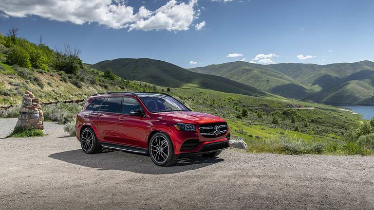 An image that illustrates this article Road test: Mercedes-Benz GLS 580 proves a tech-heavy ride