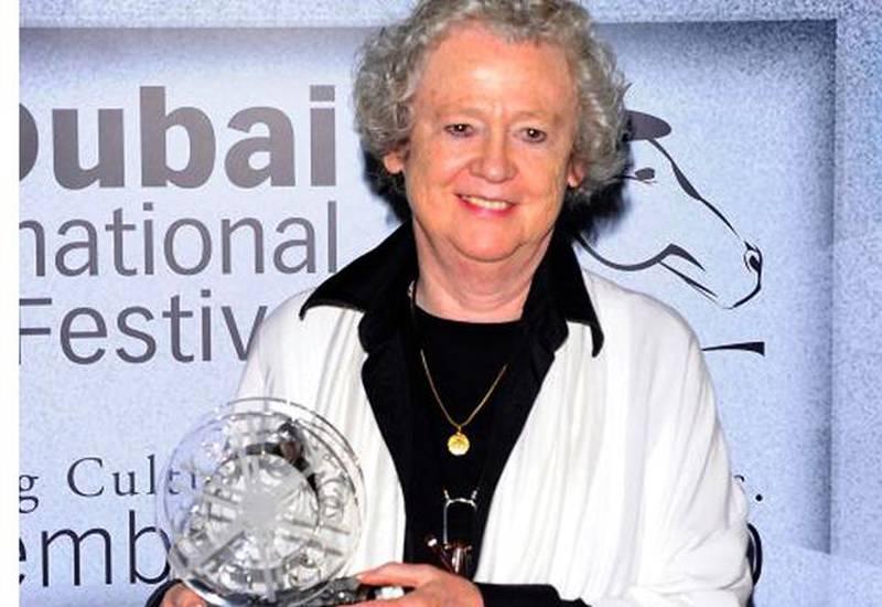 Sheila WhitakerCREDIT: Courtesy Dubai Film Festival