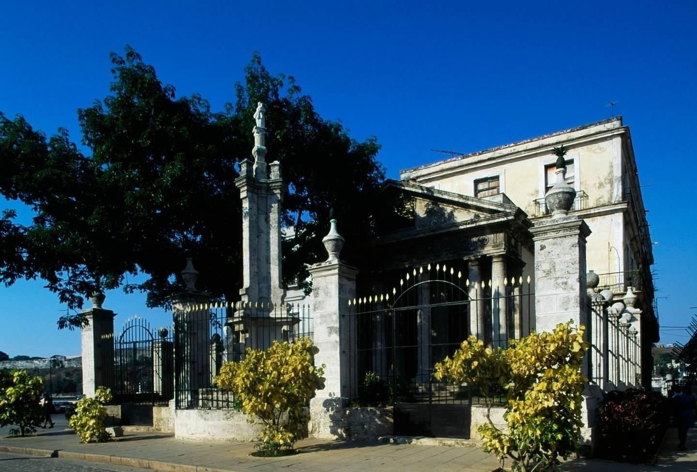 CUBA - JANUARY 26: El Templete, 1828, Old Havana (UNESCO World Heritage List, 1982), Havana. Cuba, 19th century. (Photo by DeAgostini/Getty Images)