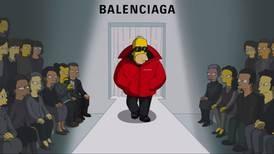The Simpsons make their fashion week debut for Balenciaga in Paris