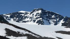 Sweden's sole remaining mountaintop shrinks two metres in year due to climate change