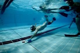Underwater hockey: quirky sport makes a splash in the UAE