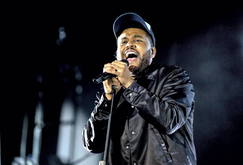 The Weeknd performs at the Mawazine Festival in Rabat, Morocco.Courtesy: Sife El Amine