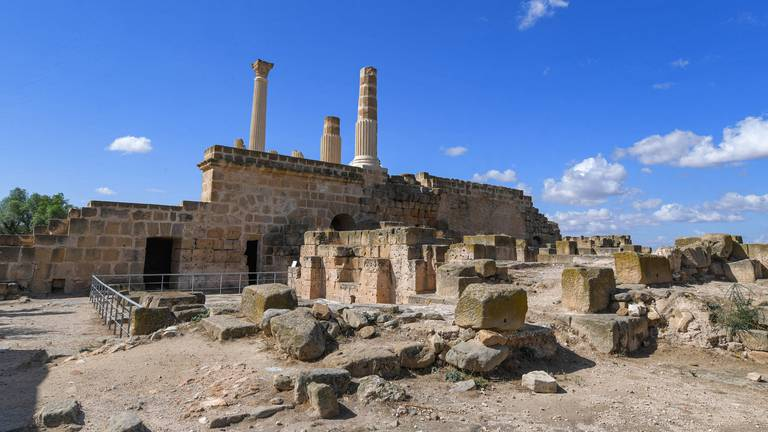 An image that illustrates this article Tunisia's Oudhna archaeological site - in pictures