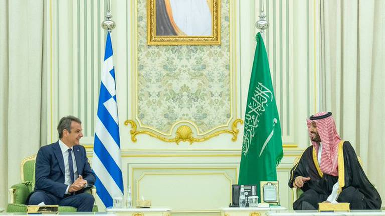 An image that illustrates this article Saudi Arabia and Greece to consider establishing joint-investment fund