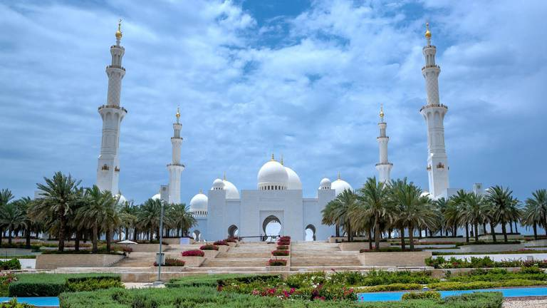 An image that illustrates this article Eid Al Fitr prayer times and venues announced by Sheikh Zayed Grand Mosque Centre