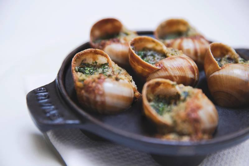 LPM snails with garlic butter. Courtesy La Petite Maison Dubai *** Local Caption ***  al14fe-Top-10-4-La-Petite-Maison-Dubai.jpg
