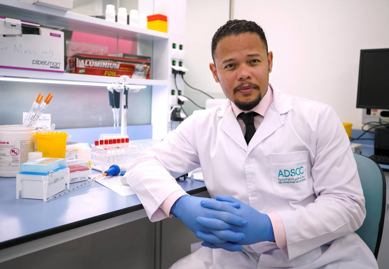 Abu Dhabi, United Arab Emirates, June 14, 2020.   Dr. Yendry Ventura, General Manager,  Abu Dhabi Stem Cell Centre.Victor Besa  / The NationalSection:  NAReporter:  Daniel Bardsley