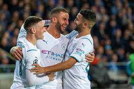 Five-star Manchester City outclass Brugge to get back on track