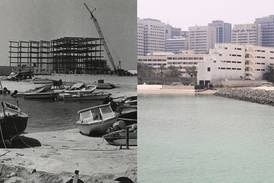 UAE then and now: one of the last standing buildings of Abu Dhabi's old Tourist Club area