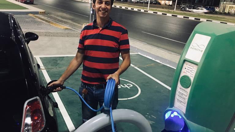 An image that illustrates this article How Egypt is turning to electric vehicles to fuel its sustainability goals