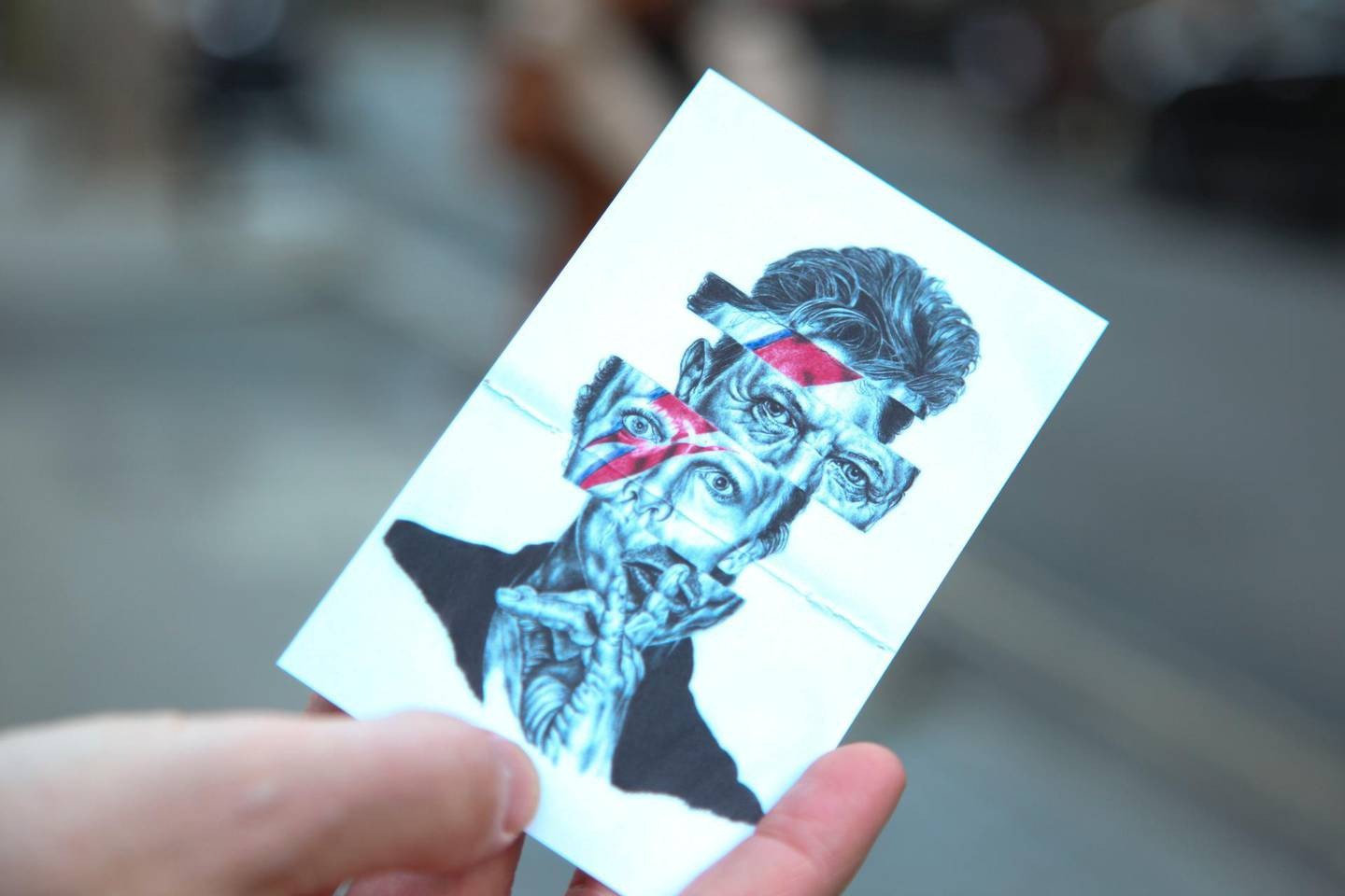 An art card, given to donors making contactless payments to homeless charities by the company TAP London in London, United Kingdom on January 4, 2018. Thomson Reuter Foundation / Cormac O'Brien