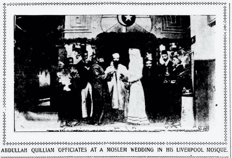 Abdullah Quilliam Muslim Marriage. Courtesy Abdullah Quilliam Society