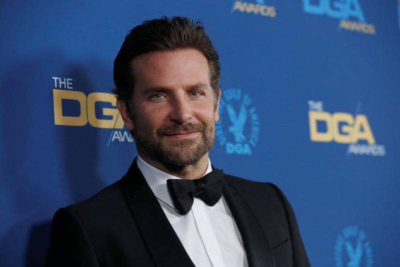 """Bradley Cooper, director of """"A Star is Born"""" and nominee for Best Director, poses upon arrival at the Directors Guild Awards in Los Angeles, California, U.S. February 2, 2019. REUTERS/Mario Anzuoni"""