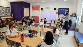 Back to school: thousands of UAE pupils return to classrooms