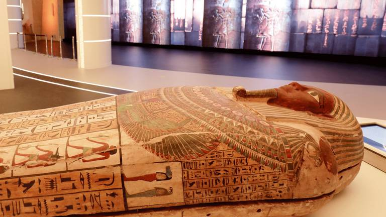 An image that illustrates this article Egyptian coffin - in pictures