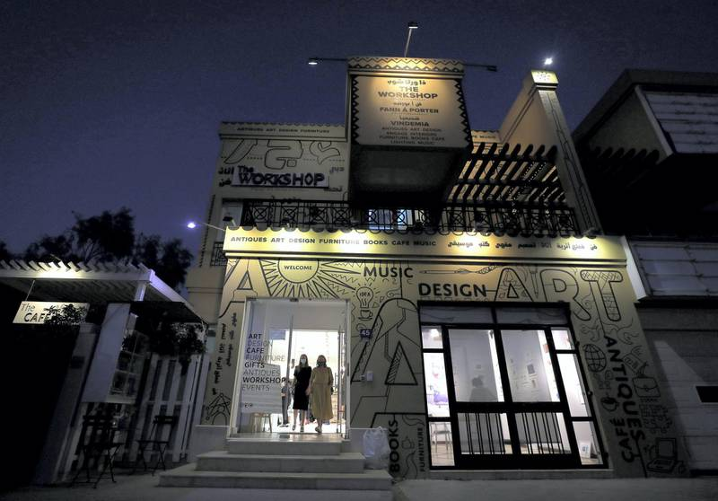 Dubai, United Arab Emirates - November 30, 2020: Mawaheb, an art studio for people with disabilities, hosts its final exhibition before it closes. Monday, November 30th, 2020 in Dubai. Chris Whiteoak / The National