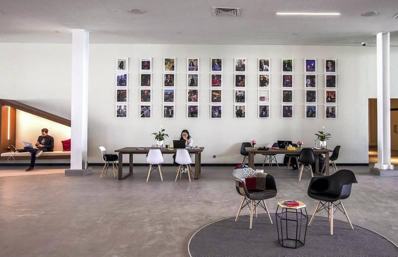 Abu Dhabi, United Arab Emirates, March 3, 2020.  Beklee Abu Dhabi, Manarat Saadiyat.  Interior and exterior images. Victor Besa / The National Section:  NA Reporter:  Razmig Bedirian