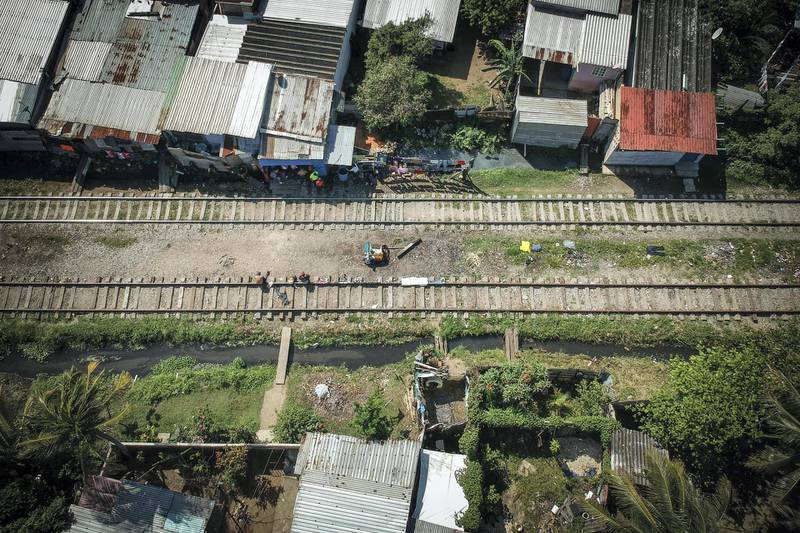 La Bestia, known as The Death Train, is the name of a network of freight trains that transport fuels, materials and other supplies along the railways of Mexico, but is also used as a means of transportation for migrants, mainly Salvadorans, Hondurans and Guatemalans, who seek to reach the United States.