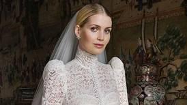 Lady Kitty Spencer's wedding dress revealed as Princess Diana's niece weds Michael Lewis