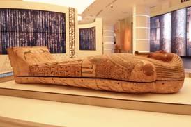 Expo 2020 Dubai: ancient pharaoh's coffin arrives at Egypt's pavilion