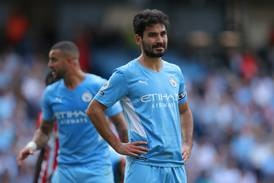 Ilkay Gundogan adds to Manchester City's growing fitness concerns