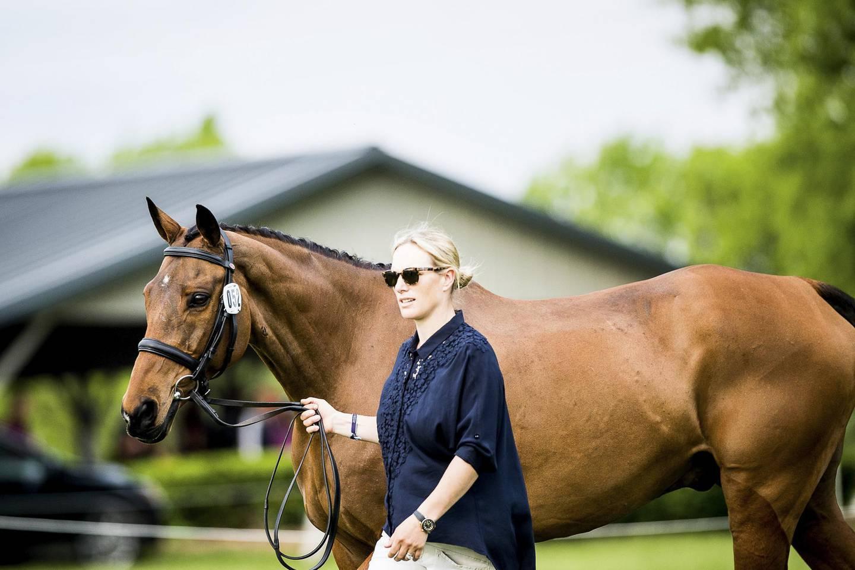 Zara Tindall at Rolex Kentucky Three-Day Event. Courtesy Rolex