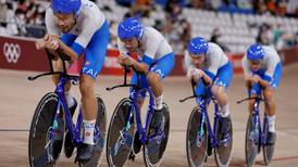 Italy edge Denmark in thrilling men's team pursuit final to end 61-year wait for gold