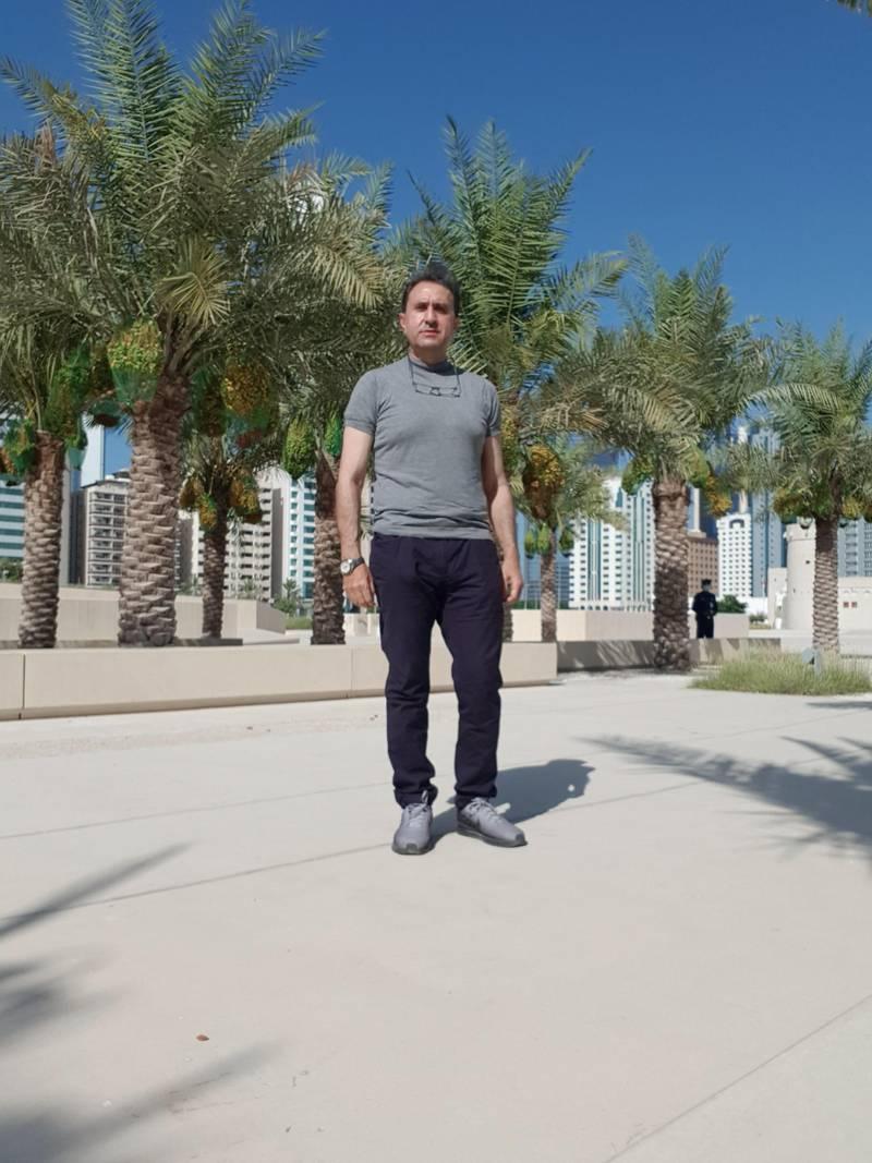 Bassem Itani, Emirates Loto winner. Courtesy EWINGS