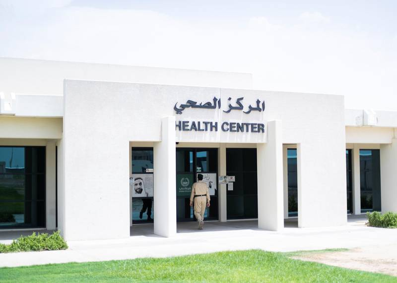 DUBAI, UNITED ARAB EMIRATES. 21 JULY 2020. Health center, Al Awir Central Jail.(Photo: Reem Mohammed/The National)Reporter:Section: