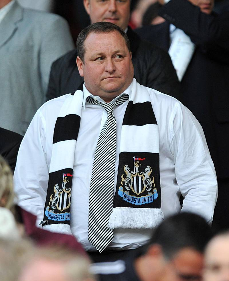 File photo dated 16/08/10 of Mike Ashley. PRESS ASSOCIATION Photo. Issue date: Friday July 26, 2019. Few clubs do dysfunction like Newcastle and the Magpies have endured another summer of upheaval on and off the pitch. See PA story SOCCER Premier League Talking Points. Photo credit should read Owen Humphreys/PA Wire.