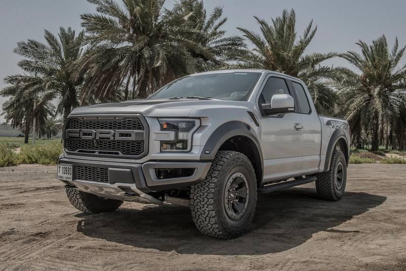 Ford F-150 Raptor road test shoot, Abu Dhabi , UAE , Vidhyaa for The National , ID 22681