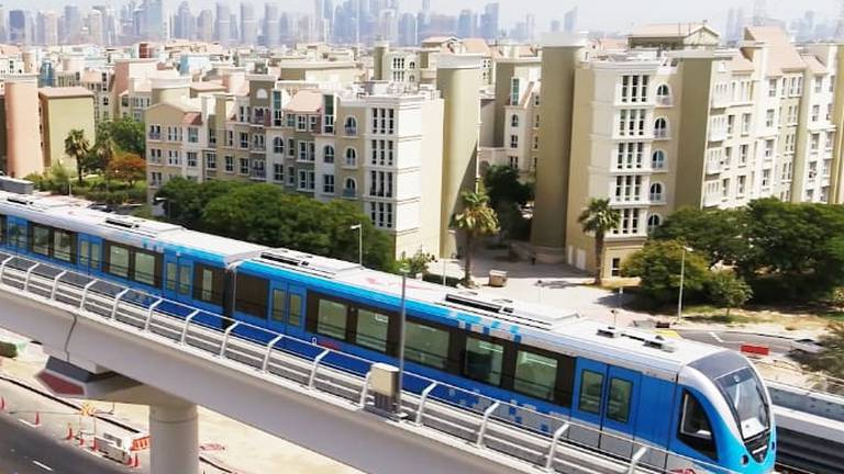 An image that illustrates this article Dubai Metro trains to run earlier for Expo 2020 visitors