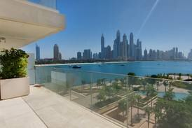 Dubai property of the week: Dh14m One at Palm Jumeirah apartment has Miami vibes