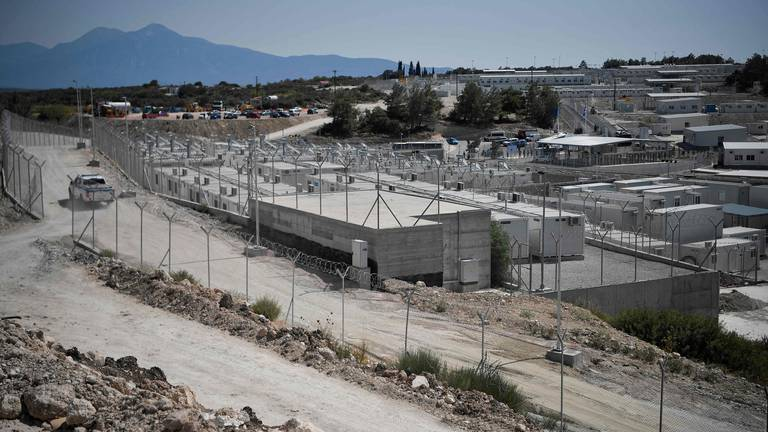 An image that illustrates this article Greece inaugurates first 'closed' camp for asylum seekers