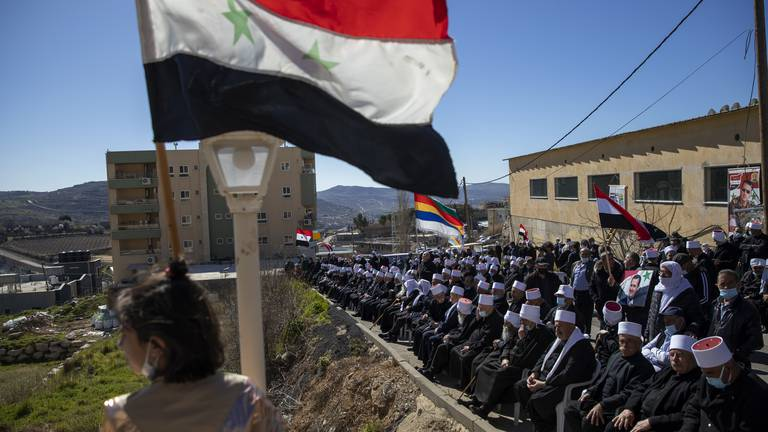 An image that illustrates this article Golan Heights - in pictures