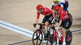 Denmark clinch men's madison Olympic gold after chaotic and crash-filled race