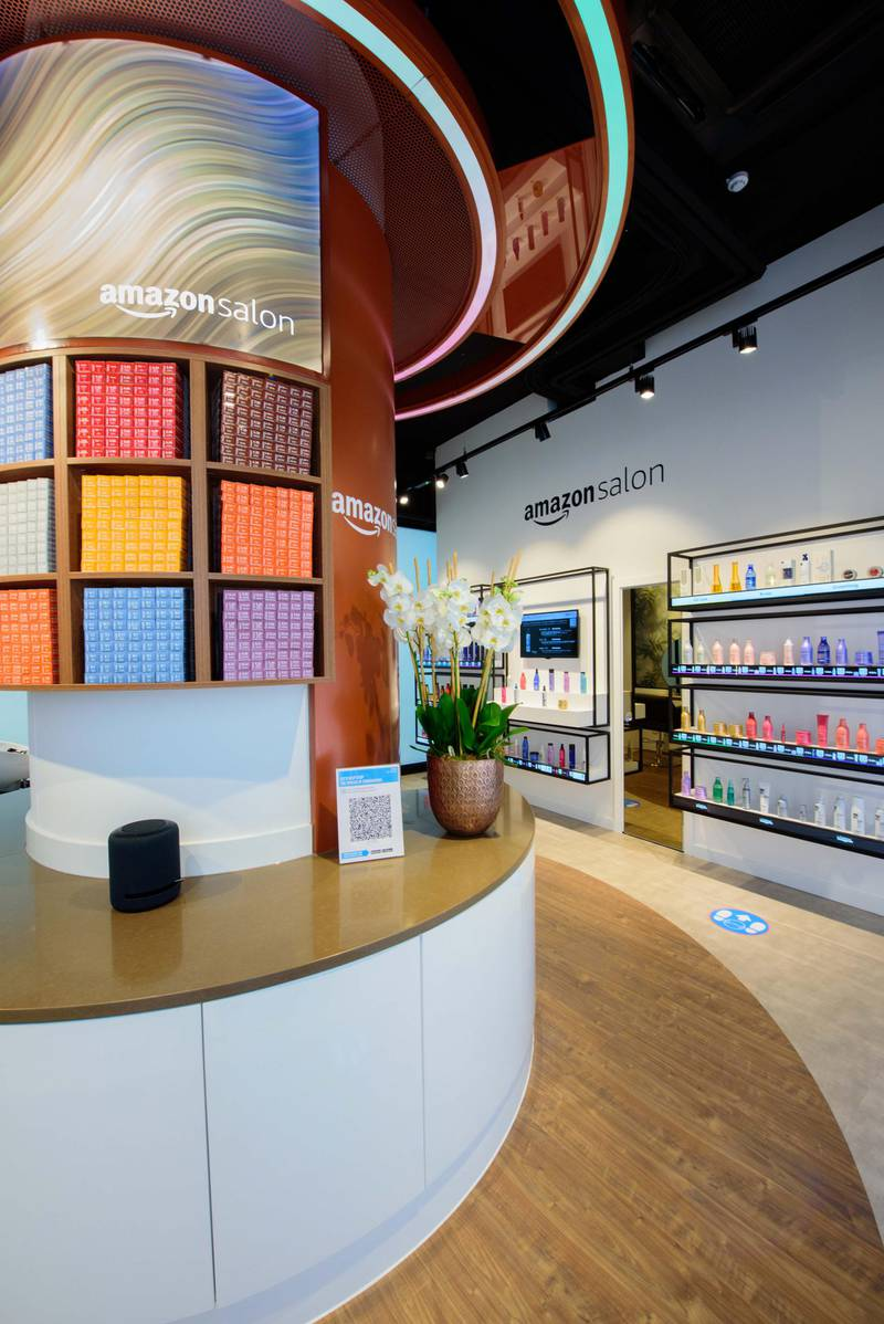 Amazon Salon in London. Courtesy Amazon