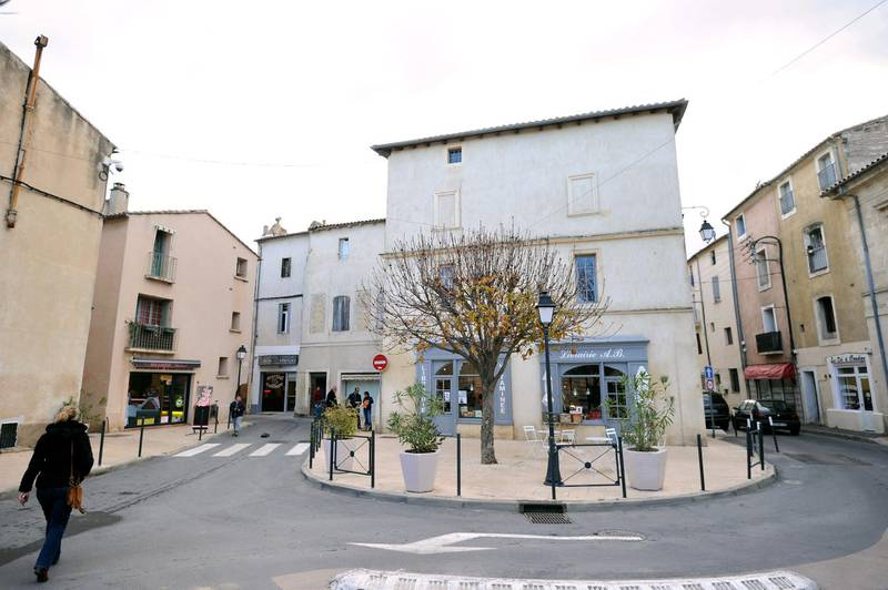 A picture taken on January 27, 2015 shows the center of Lunel, southern France, where five people were arrested today during the operation in the city from which about 20 people left to make Jihad in Syria.     AFP PHOTO / SYLVAIN THOMAS / AFP PHOTO / SYLVAIN THOMAS