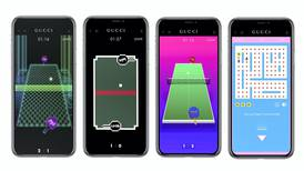 The Gucci app tells the story of the fashion house in 8-bit arcade form
