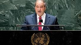 UNGA 2021: Syria wants foreign forces out