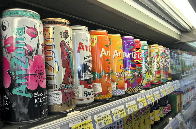 Fizzy drinks at supermarket in Abu Dhabi. The National