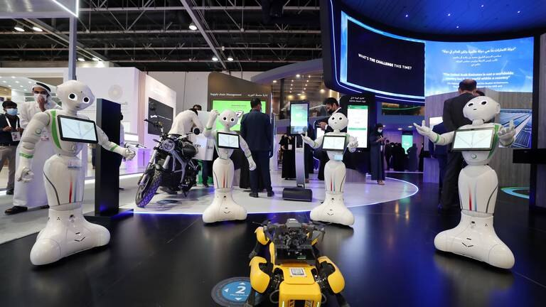 An image that illustrates this article Day one of Gitex: in pictures