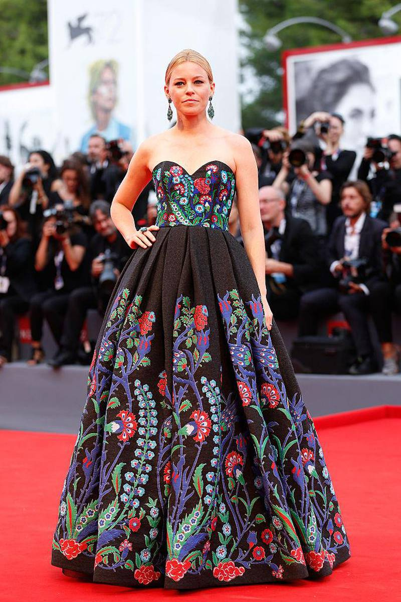 VENICE, ITALY - SEPTEMBER 04:  Elizabeth Banks attends a premiere for 'Black Mass' during the 72nd Venice Film Festival at  on September 4, 2015 in Venice, Italy.  (Photo by Tristan Fewings/Getty Images)