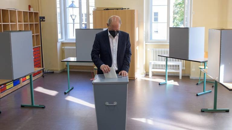 An image that illustrates this article Germany elections - in pictures