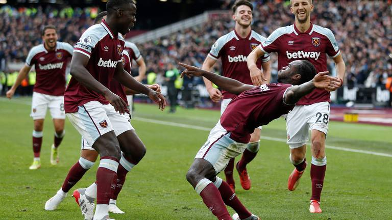 An image that illustrates this article West Ham v Tottenham player ratings: Antonio 8, Rice 8; Son 6, Kane 5