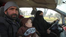 On the run to nowhere: displaced Syrians in Idlib flee fighting